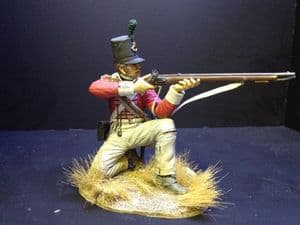 43rd Monmouthshire Light Infantry Kneeling