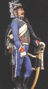 FH-1 French Hussar 1st Regiment 1804