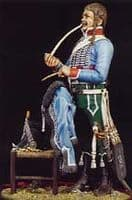 FH-3 French Trooper Hussar with Chair