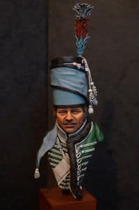 French Hussar c1793 Bust