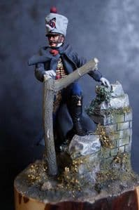 Hussar with Wall