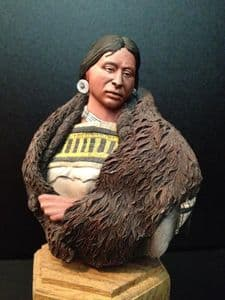 Indian Squaw Bust - SALE Normal price £30