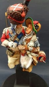 Swiss Grenadier Sapper with Cantiniere Bust