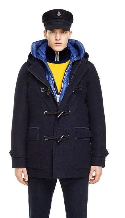MARINA YACHTING 3in1 Navy 100% Teflon Wool Down Padded Hooded Duffle Coat BNWTs