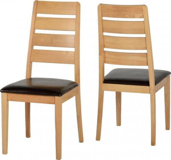 Aden set of 2 Dining Chairs
