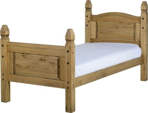 Corin Single Bed High Foot