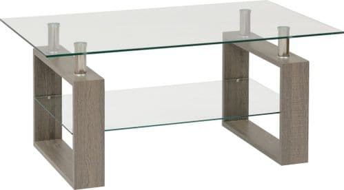 Monza Coffee Table Charcoal