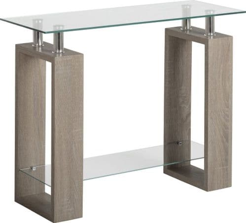Monza Console Table Charcoal