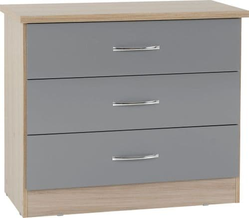 Blanca Grey chest of Drawers