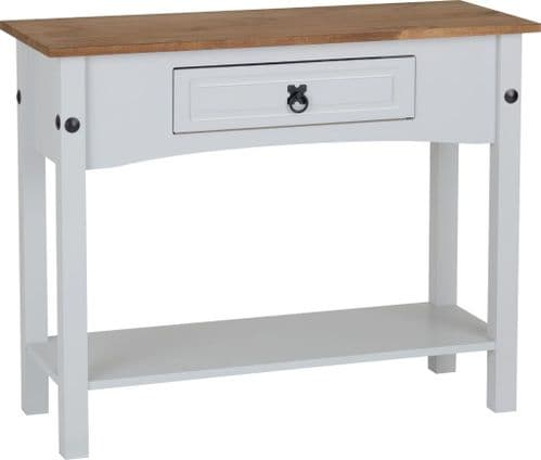 Corin Console Table, Grey