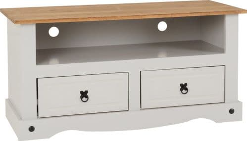 Corin Grey Flat Screen TV Unit