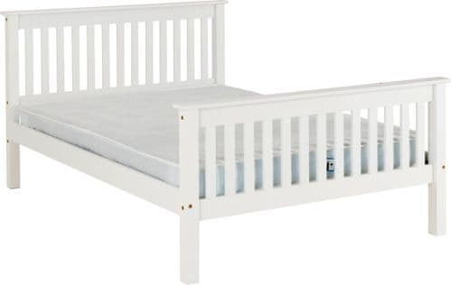 Doyle King Size Bed High end, White