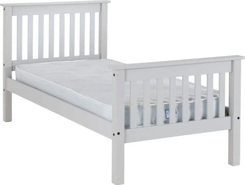 Doyle Single Bed Grey
