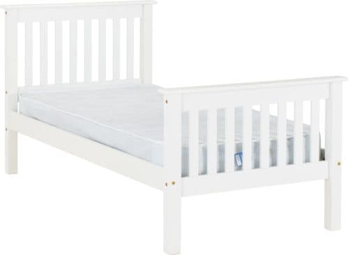 Doyle Single Bed White
