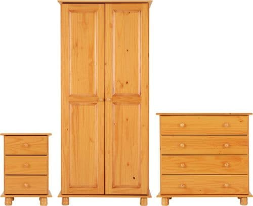Heirloom Pine Bedroom Set