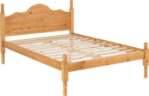 Heirloom Pine Small Double Bed