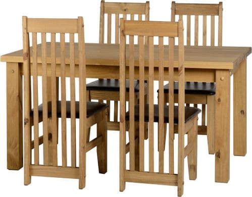 Riley 4 Seat Dining Set