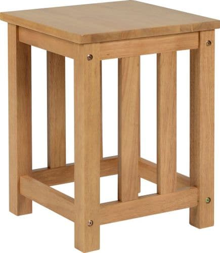 Set of 2 Andreti Wooden Stools