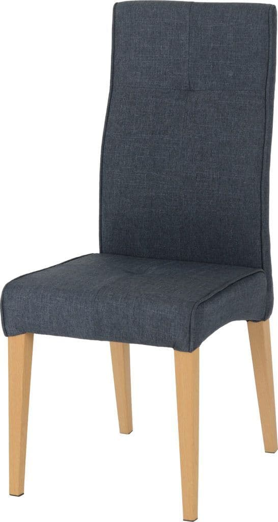 Set of 2 Kussen Dining Chairs