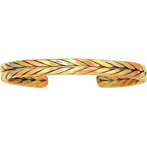 Copper Bracelet - Autumn Wheat