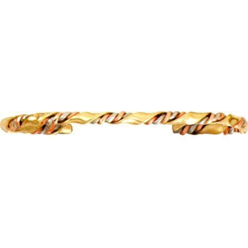 Copper Bracelet - Baroque