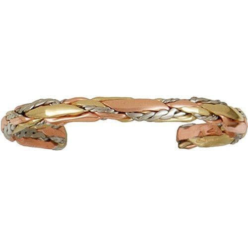 Copper Bracelet - Light Sage