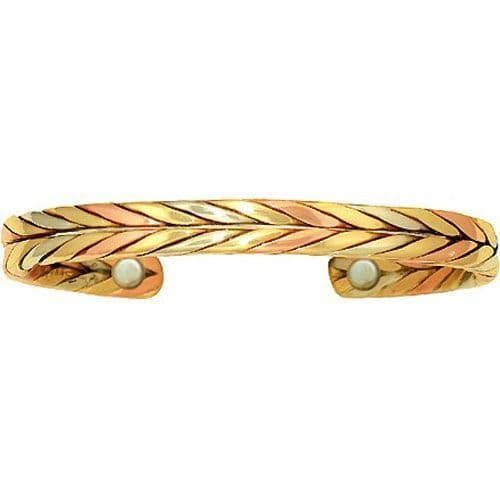 Magnetic Copper Bracelet - Autumn Wheat