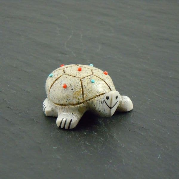 Zuni Turtle Carving By Claudia Peina