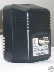 PAT Tester Calibration Checkbox. New, with Calibration