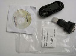 USB Adapter & RS232 Data Cable for Fluke PAT Testers