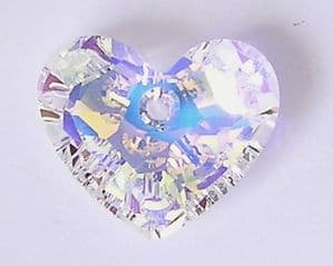 6264 Swarovski Truly in Love Heart pendant 28mm Crystal AB