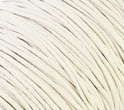 10M White Waxed Cotton cord 1.0mm