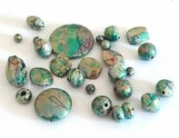 Acrylic Mixed shape Beads 8-40mm 50g ( 28 pcs)