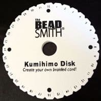 Beadsmith Kumihimo Braiding Disk & Instructions