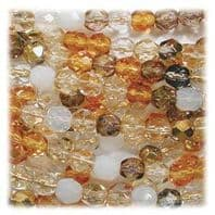 Fire Polished beads 6mm
