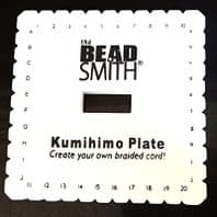 Kumihimo braiding Plate 6 inch includes instructions