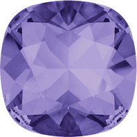 Swarovski 4470 Square Fancy stone 10mm Tanzanite