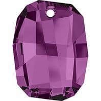 Swarovski 6685 Graphic Pendant 28mm Amethyst