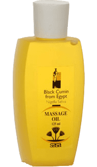 Black Seed Massage Oil