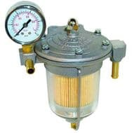 Filter King Fuel Regulator with Pressure Gauge