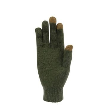 Gloves Thinny Touch Green by Extremities