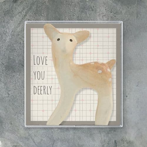'Love You Deerly' East of India Boxed Keepsake