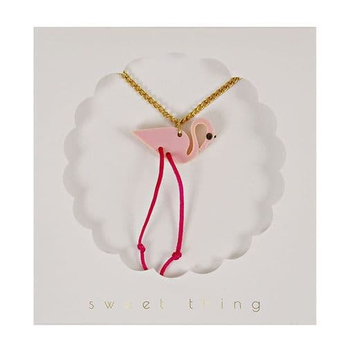 'Pink Flamingo' Necklace