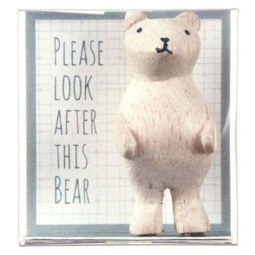 'Please look after this bear' East of India Boxed Keepsake