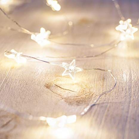 Copper Wire Star  Fairy Lights