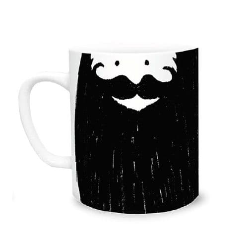 George Beard Face Mug