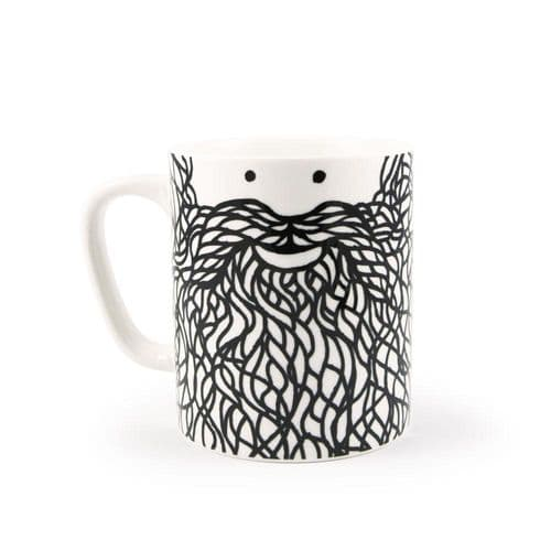 Hubert Beard Face Mug