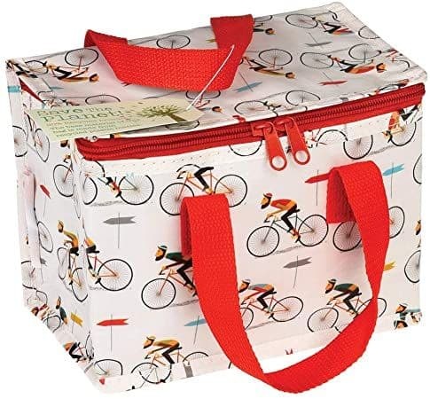 Insulated Lunch Bag - Le Bicycle Print