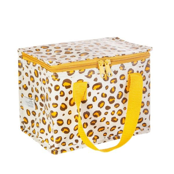 Insulated Lunch Bag - Leopard Print