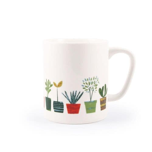 Little Plants Ceramic Mug
